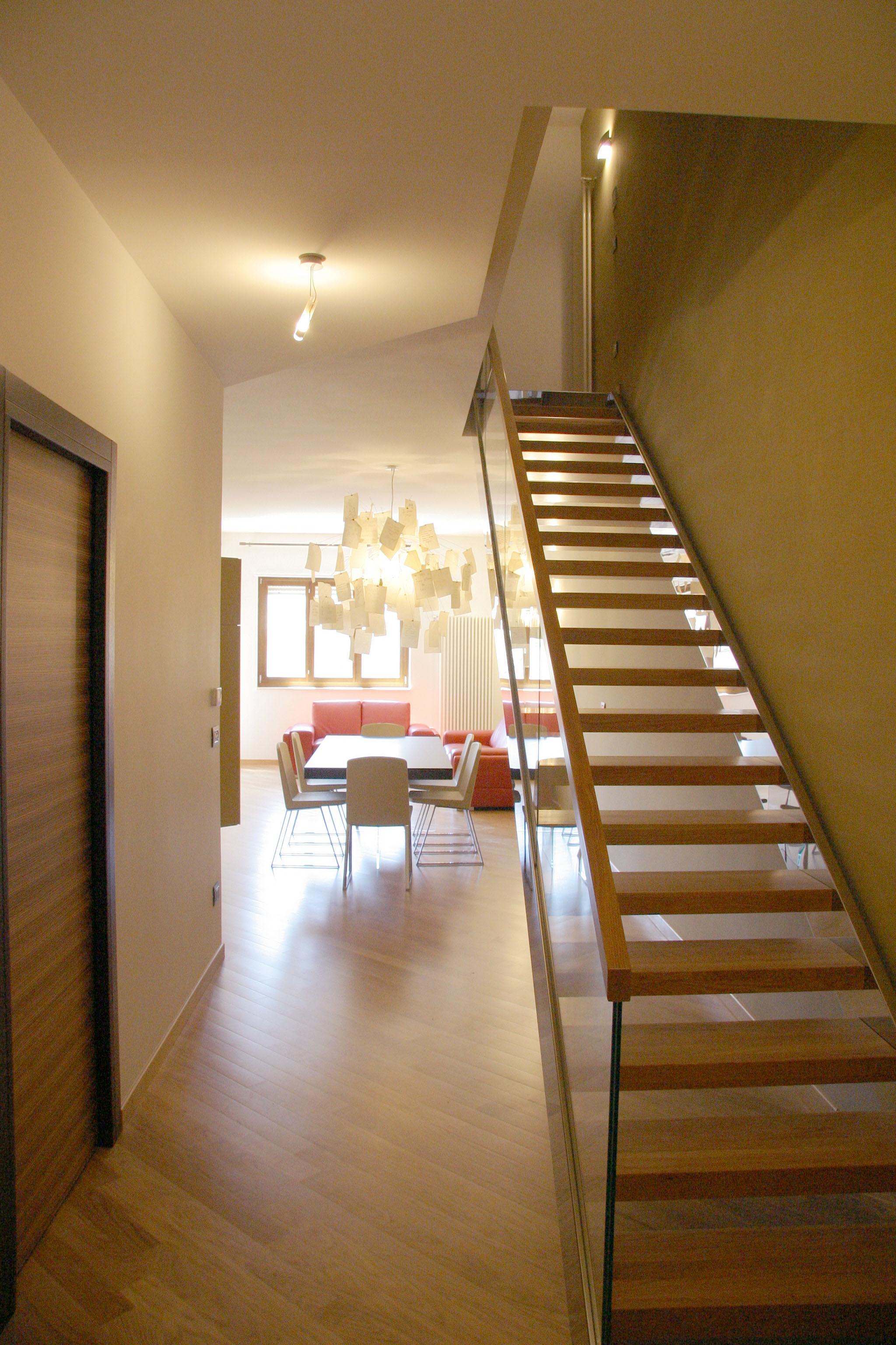Archilab francesco clori architettocasa su due livelli for Aggiunte a casa su due livelli